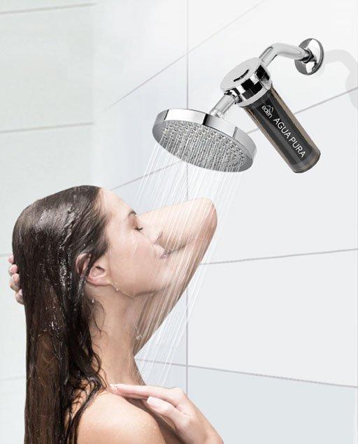 Bañarse con agua fría después de hacer deporte.